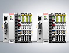 CX8000 Embedded PC: New master interfaces for CANopen and PROFIBUS