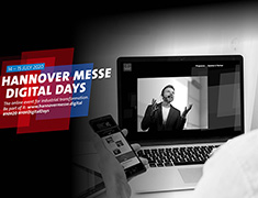 Beckhoff is Premium Partner of the Hannover Messe Digital Days