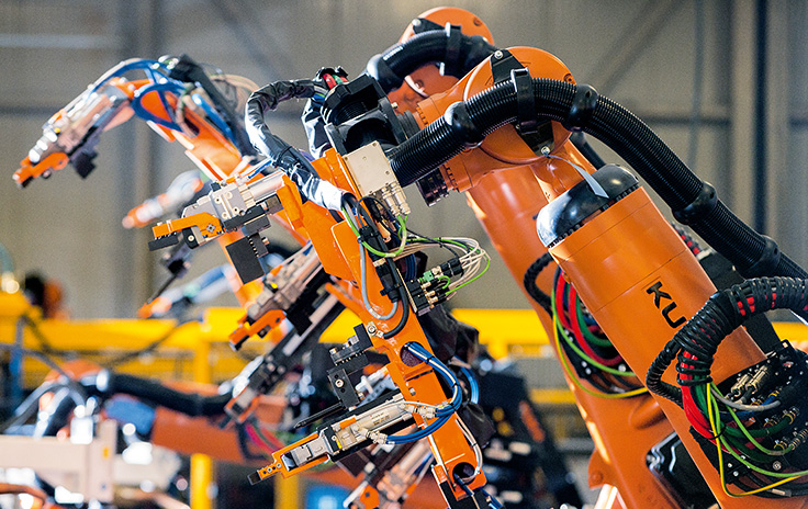 Turnkey robotic systems for automotive assembly
