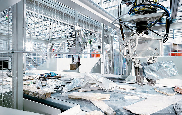 ZenRobotics, Finland: Self-learning robot recycles materials in fully-automated waste sorting facility