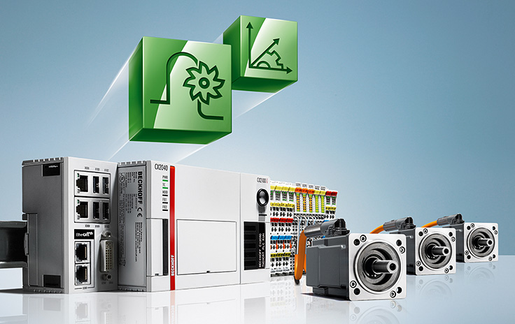 The compact high-performance CNC on the DIN rail