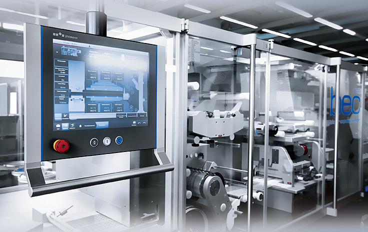 Uhlmann Pac-Systeme, Germany: Customer-specific multi-touch Control Panels with high operating convenience and top design