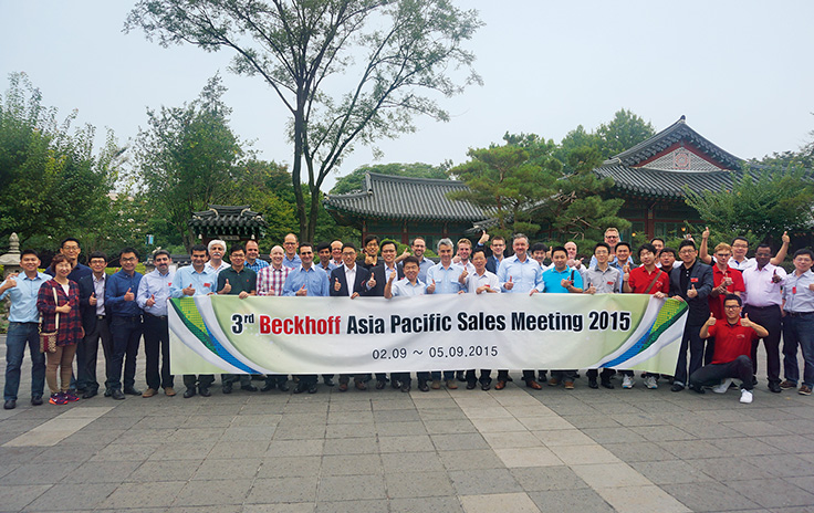 Drittes Asia Pacific Sales Meeting in Südkorea