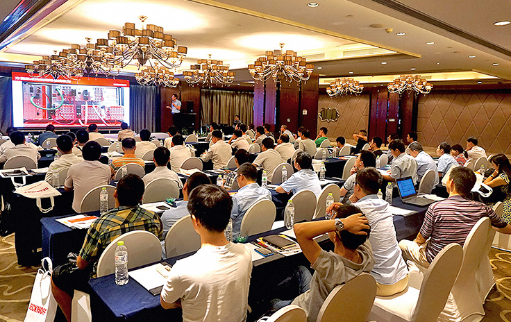 EtherCAT-Seminar-Sommer 2015 in China
