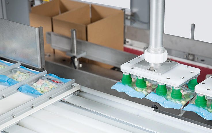 Bosch Packaging, USA: PC- and EtherCAT-based control improve the performance and flexibility of packaging machines